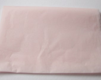 """10 Sheets of Blush Pink Tissue Paper (20"""" x 26"""")"""