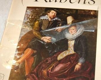 "Vintage Color Art Plates ""Rubens"" An Abrams Art Book"
