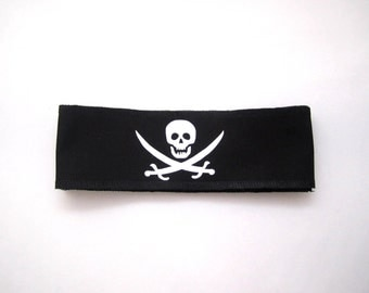 Pirate Party Headbands - Pirate Party Favors - Headbands With Skulls