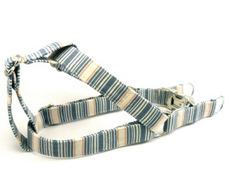Stripes Dog Step in Harness