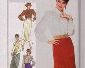 Simplicity 7604 Misses' Slim-Fitting Gored Skirt Pattern, UNCUT, Size 16, Vintage, Retro, Flashback, Work Wear, Elegant