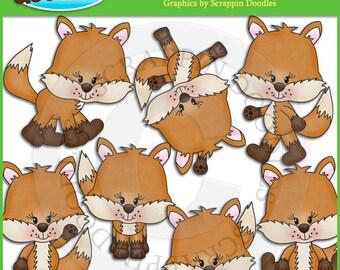 Lil Foxy Clip Art