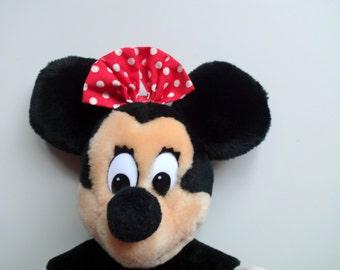Vintage Minnie Mouse Disneyland Plush 1980s