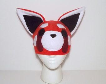 Fleece Red Panda Hat