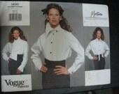 Montana Vogue blouse Paris original 1430 3 styles 6-8-10