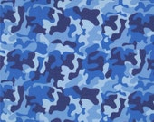 Baby  Camo Flannel Fittted Crib Sheet Various Colors