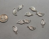 Pewter Charms - Leaves