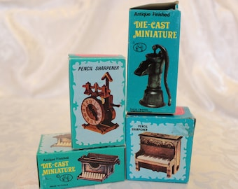 Pencil Sharpeners Miniature Die Cast Collection 2