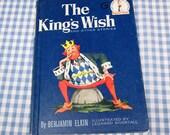 the king's wish, vintage 1960 children's book