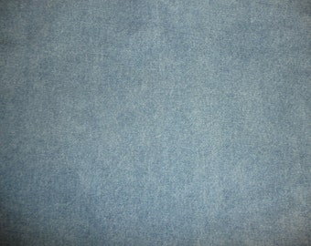 """Leather 8""""x10"""" Blue Jean DENIM look Cowhide 3.5 oz / 1.4 mm PeggySueAlso™ E2900-01"""