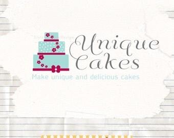 Bakery Business Logo Design - Cake Logo Design - Business Branding - logo and watermark