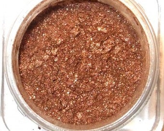 AMBER SHIMMER Mineral Eye Shadow   3 grams or 5 grams