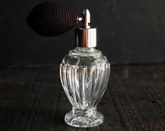 Atomizer Perfume Bottle Decanter- Empty Fancy Glass