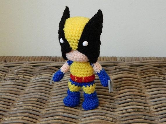 Wolverine Crochet Amigurumi Plush Doll
