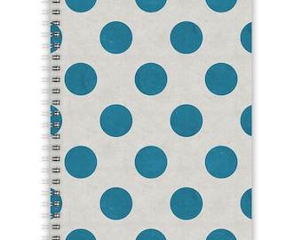 Notebook A5 - Blue Dots