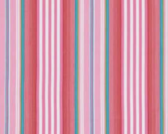 Dena Designs fat quarter fabric Little Azalea for Free Spirit Fabrics Begonia in Red