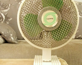 Vintage working electric fan 60s