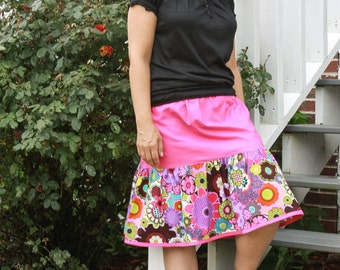 Lindsey's Women's Sweet Twirly Skirt PDF Sewing Pattern sizes XS-XL