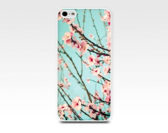 floral iphone case iphone 4 4s 5 5s case blossom pink flowers photography iphone case 6 art iphone 4 4s 5 5s case nature pink pastel flower