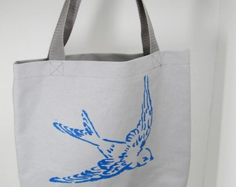 Sparrow Canvas Tote Bag