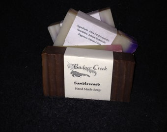Soap assortment (4 bar pack)