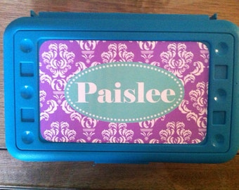 Personalized Pencil Box - Design Your Own