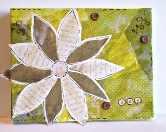 Joy Collage Painting
