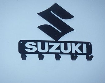 Key Rack Suzuki Metal Art