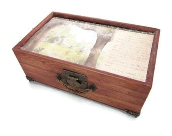 Enchanted Forest Chest (With False Bottom)