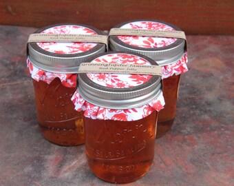 Homemade Red Bell Pepper Jelly - 8oz jar