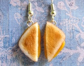 Grilled Cheese Sandwich Earrings
