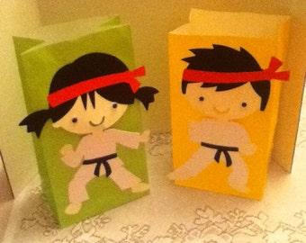 Cute Karate Party Goody Bags