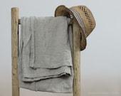 BURLAP LINEN BATH towel