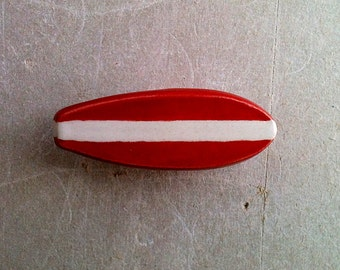 surfboard furniture knob, drawer pull