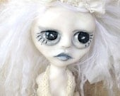 RESERVED for R  Ghost Doll White Wedding OOAK Sunday