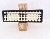 Abacus - Soroban - Vintage Plastic  - Made in Japan - Druma trademark - collectible