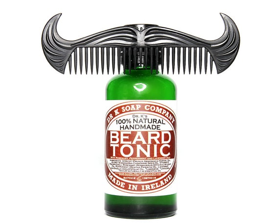 Beard Oil and Comb Mens Gift Set For Him BCOS