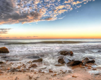 Philbin Beach, Aquinnah Martha's Vineyard Sunset 5-Fine Art Print
