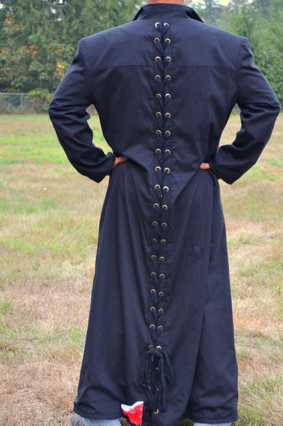 Gothic Or Steampunk Gentlemens Overcoat Long By Romanyrapture