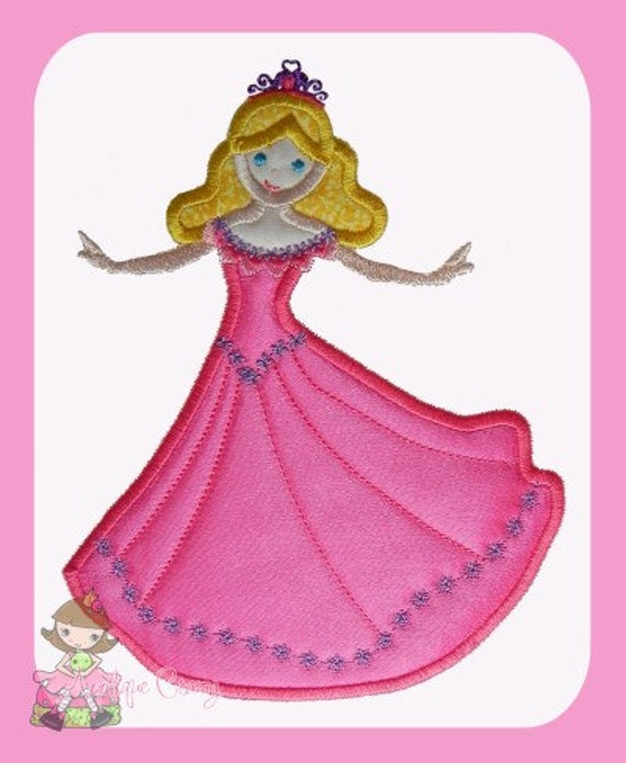 Dancing Princess Applique design