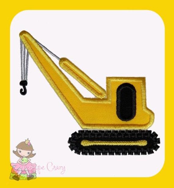 Crane Applique design