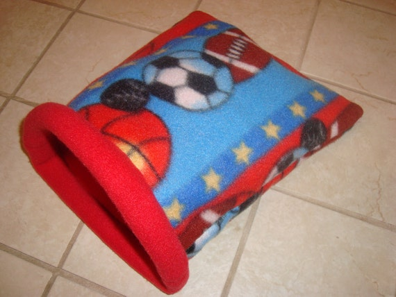 ... Pig Snuggle Sack / Guinea Pig Bed / Hedgehog / Cozy Sleeping Bag