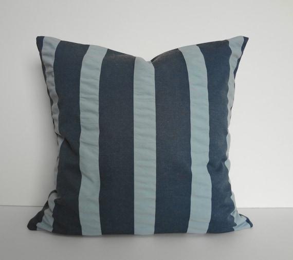 Decorative Denim Pillows : Denim Blue Decorative Pillow Cover Throw Pillow Denim Blue