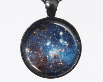 Universe Necklace - The Star Forming Reion LH95- Galaxy Series