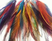FEATHERS SECONDS/Dreamcatcher, Colour Therapy, Feather hair extensions Craft Feathers Seconds Feather hair clip