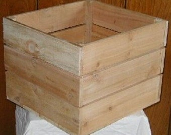 Cedar Crates, free shipping