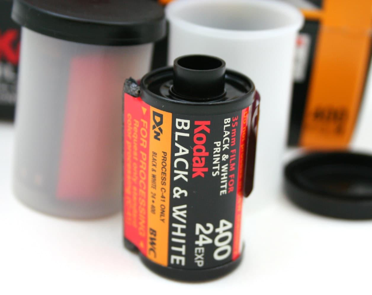 Kodak Black And White Print Film 35mm Film Photography