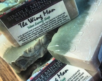 THE WING MAN - The Mens Luxury Bar - Natural Bath & Body Products by Simple MInded Bath Co.