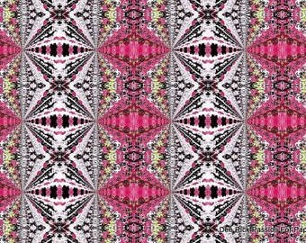 Digital Paper Bead Sheet Pink And Black Set B