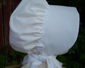 Bonnet White One Size